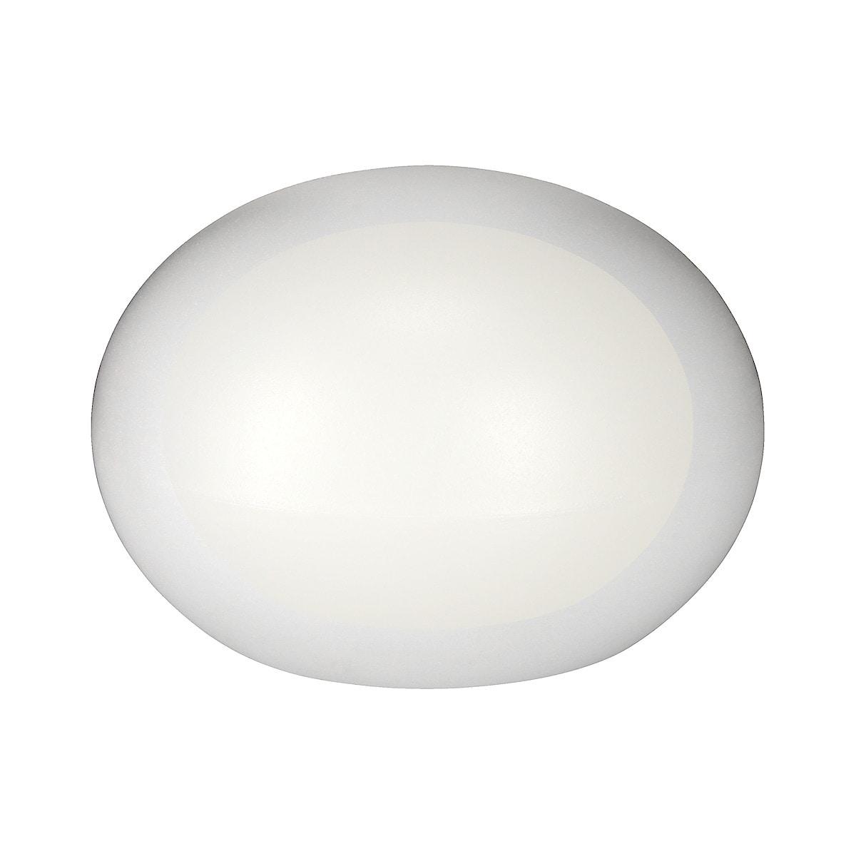 Solcellelykt rund