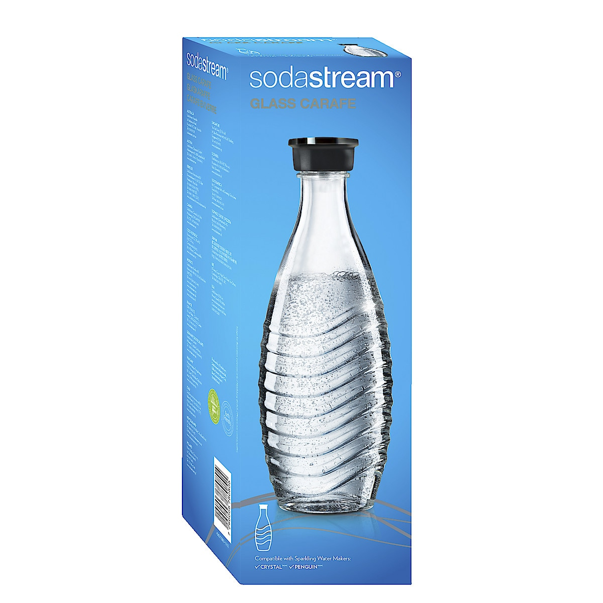 Lasipullo Sodastream Crystal