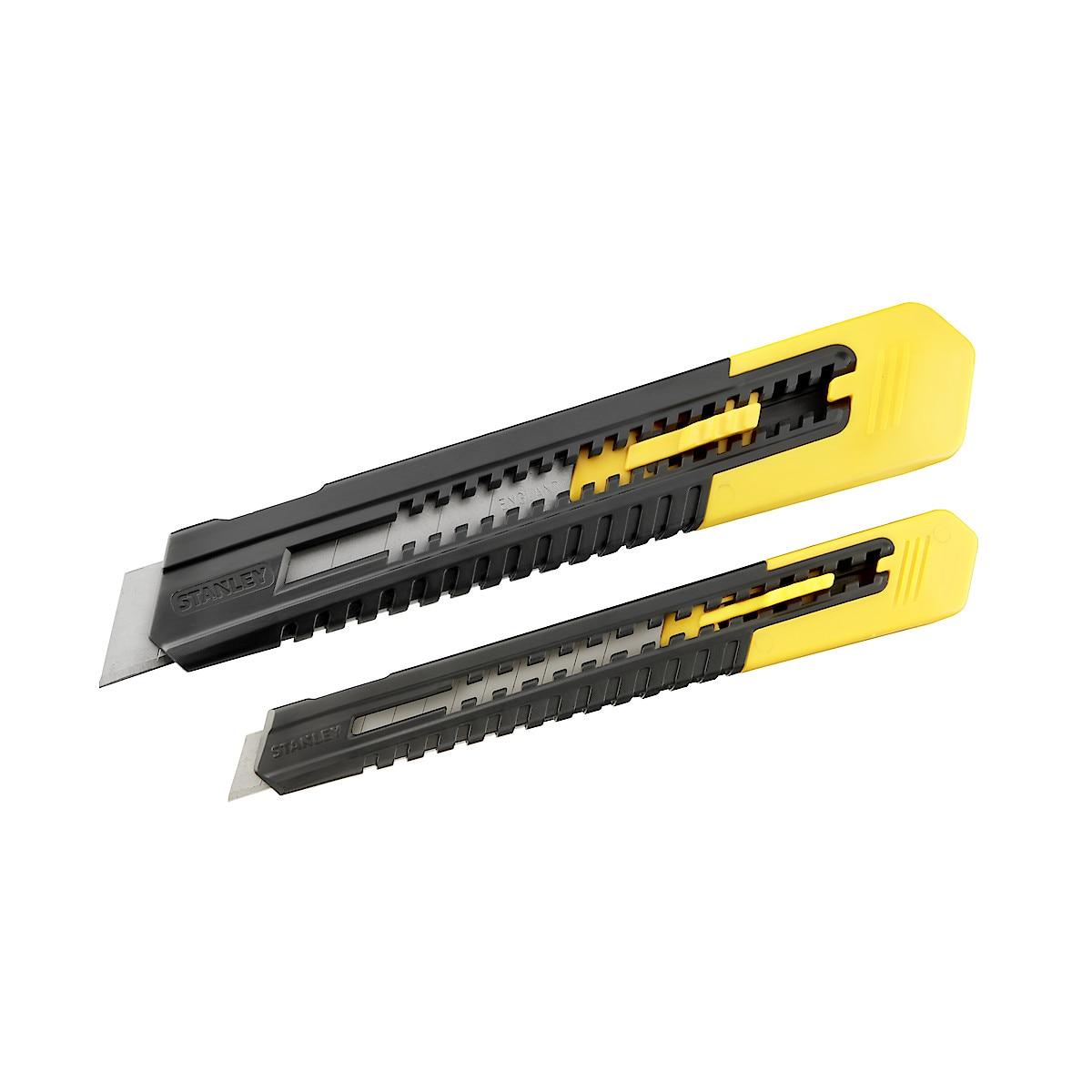 Brytbladsknivar Stanley 2-pack