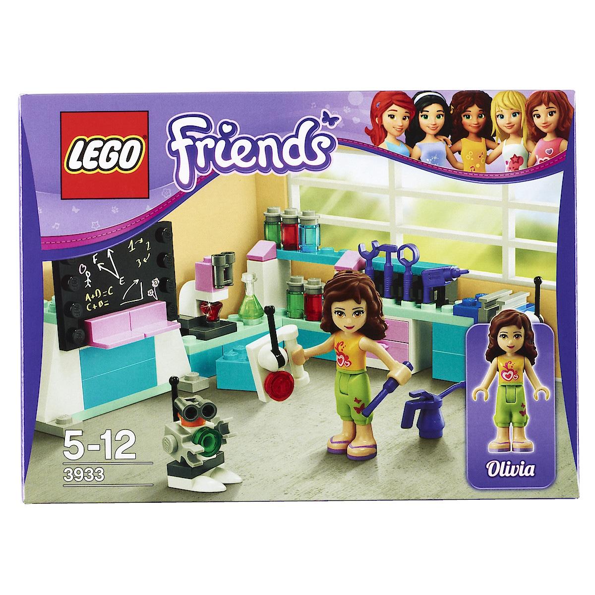 Olivian keksijäverstas 3933, Lego Friends