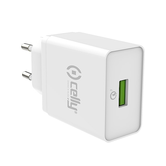 USB laturi, Celly Quick Charge 3.0 | Clas Ohlson