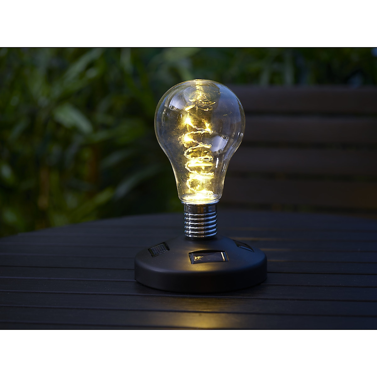 Solcellslampa Bulb