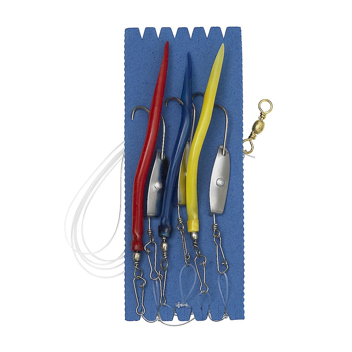 Tackelset för fiskeharpa Kinetic Sabiki Seawinder Rig Harpe Krogset