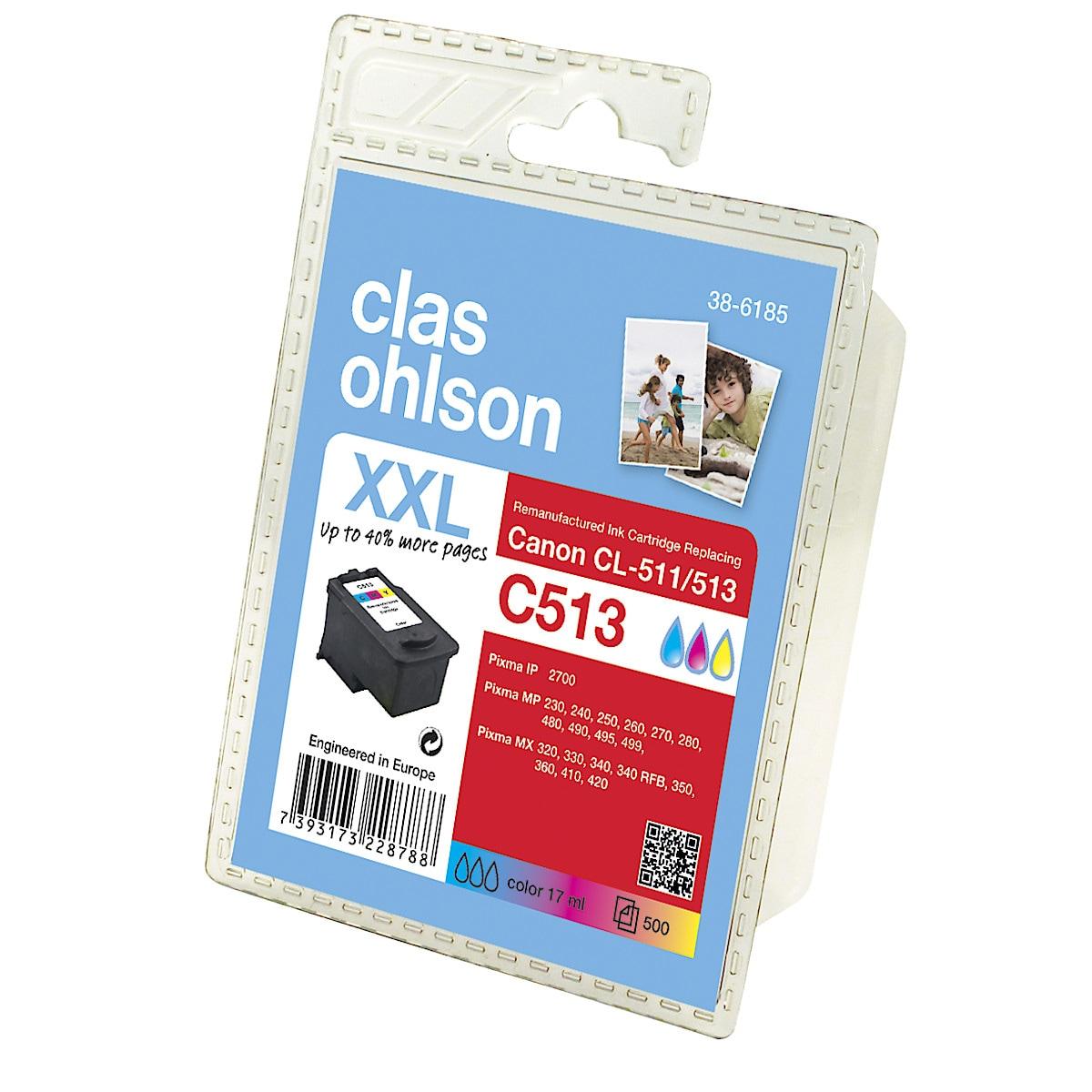 Bläckpatron Canon PG-510 / CL-511 Clas Ohlson