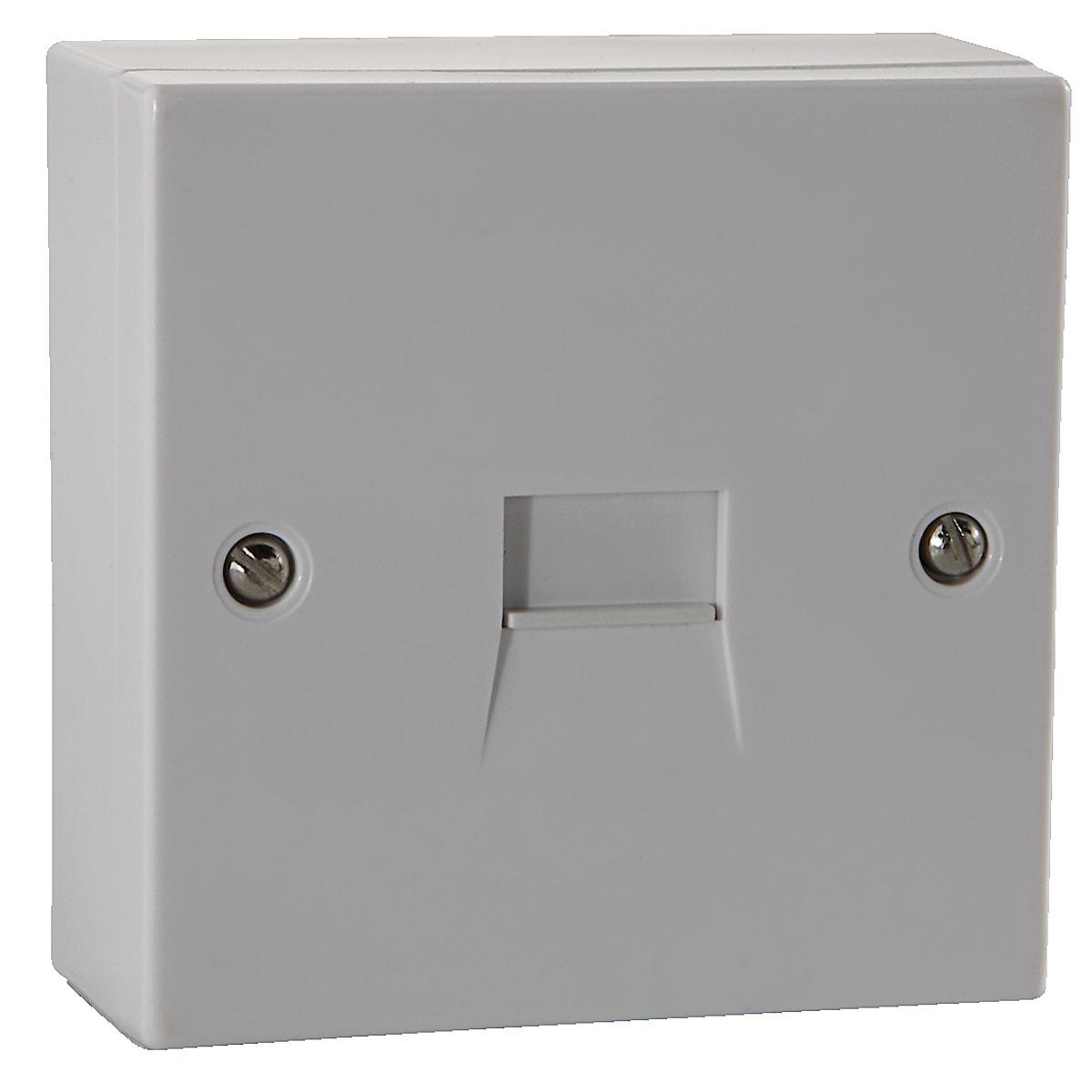 Single Surface Mount Extension Socket