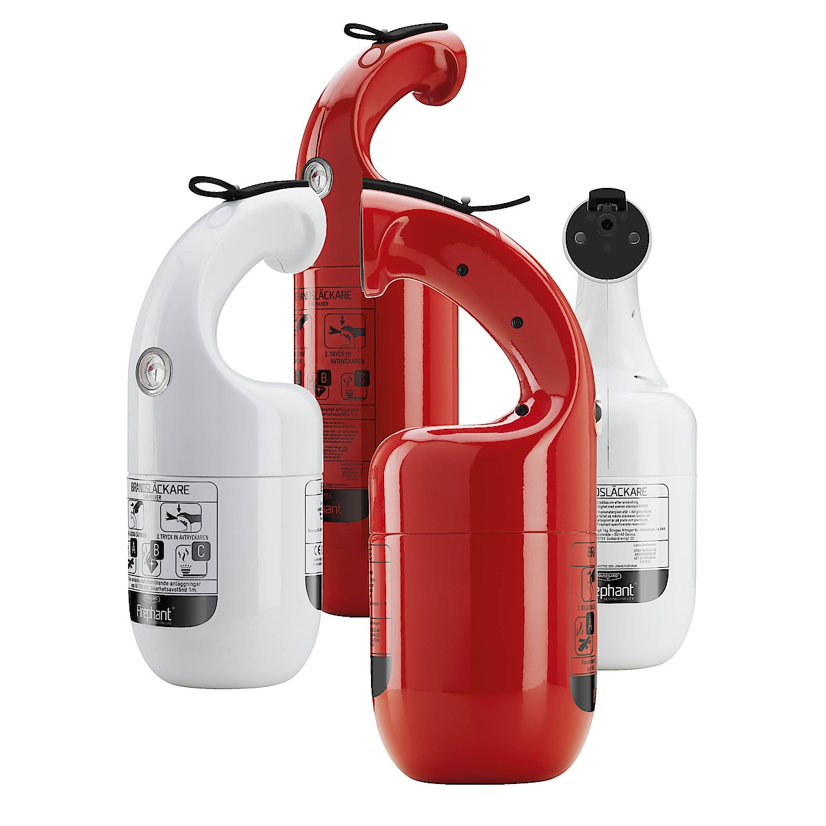 Brandsläckare Housegard Firephant