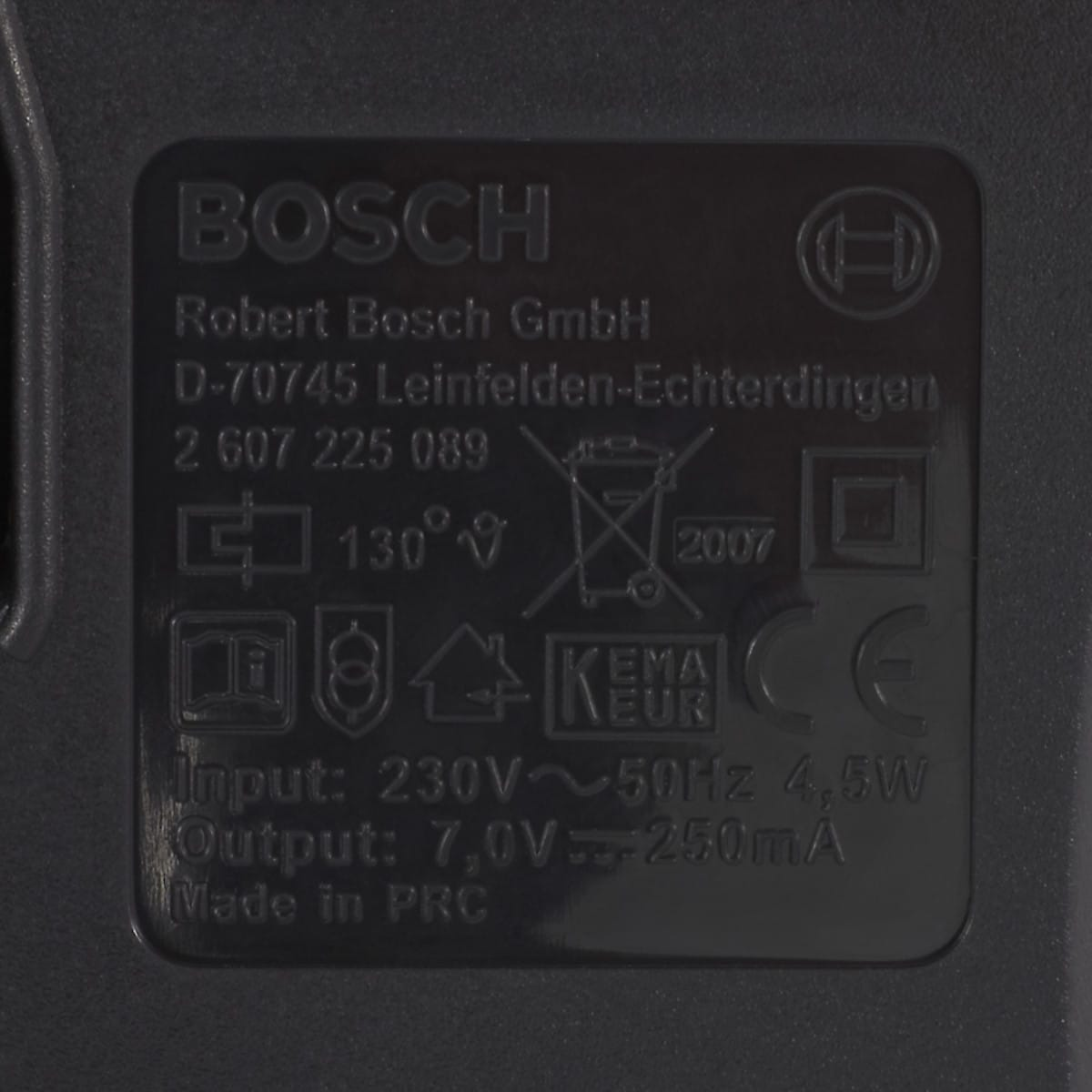 Ladegerät Bosch 3,6 V