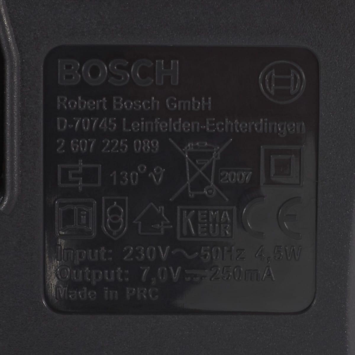 Laddare Bosch 3,6V