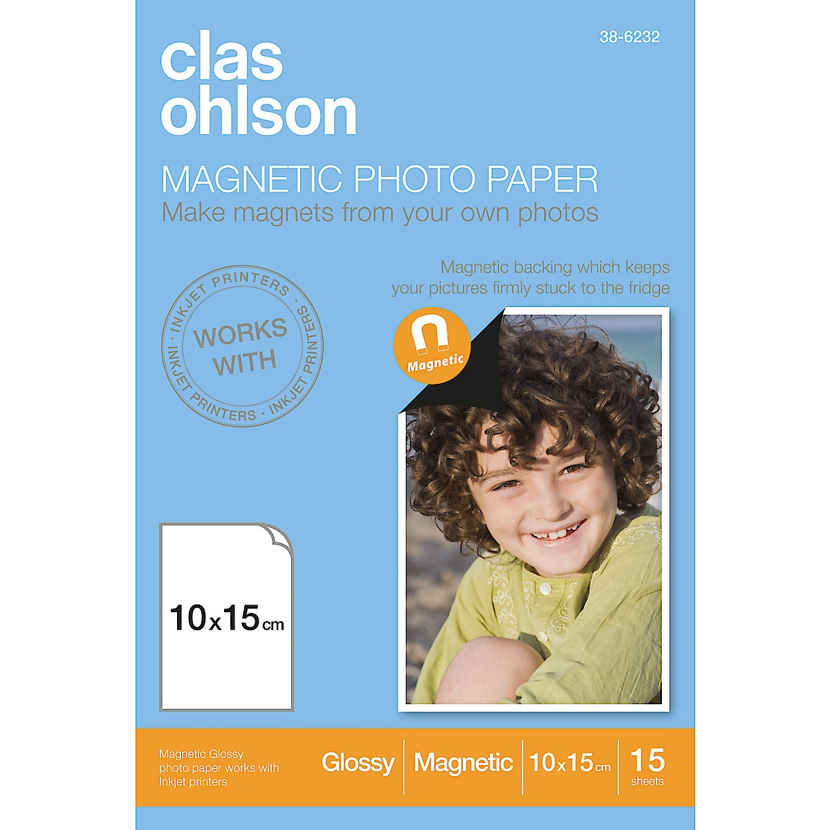 Clas Ohlson Magnetic Photo Paper