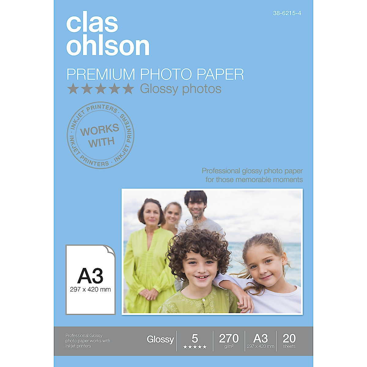 Fotopapper Clas Ohlson Glossy