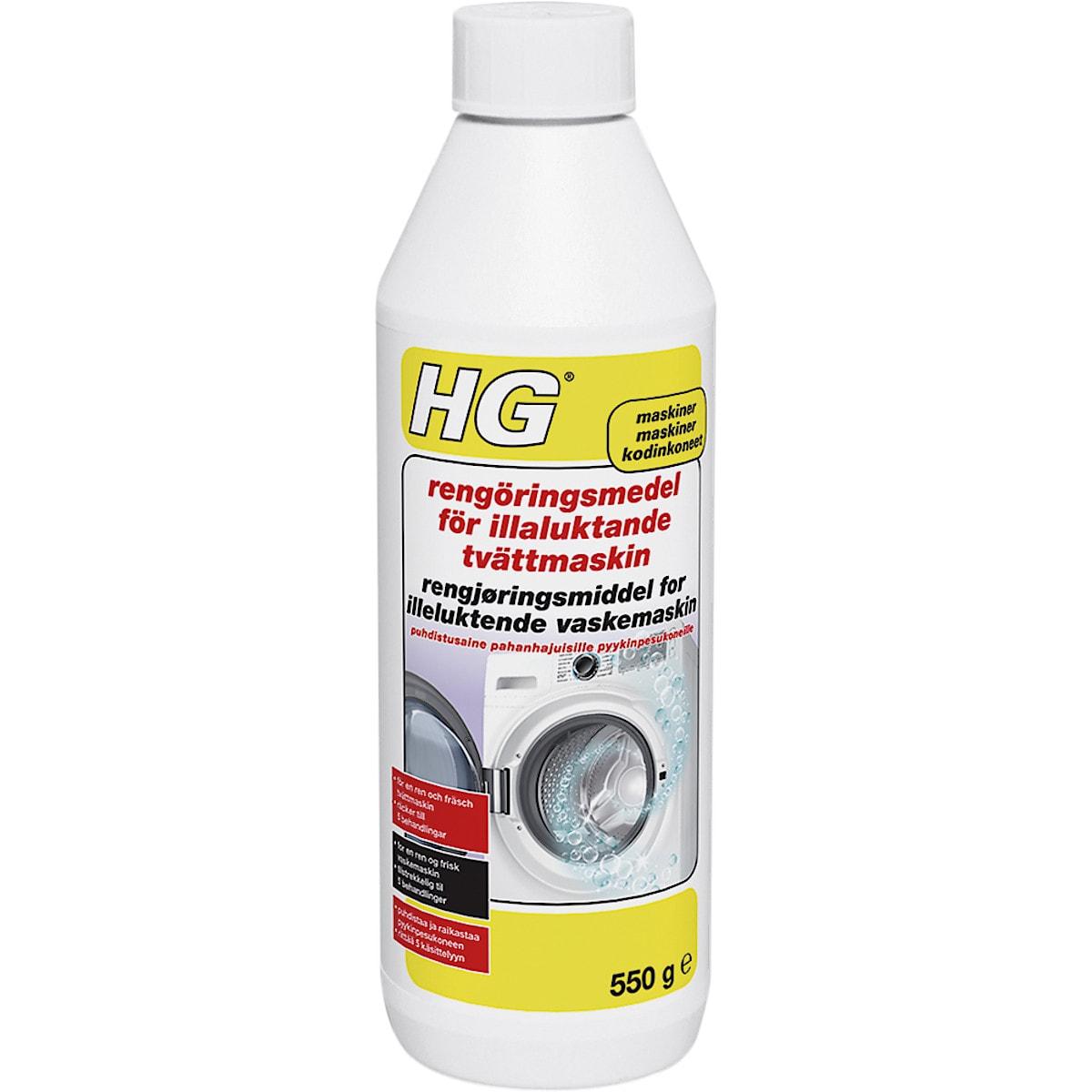Rengöring tvättmaskin HG 550 g