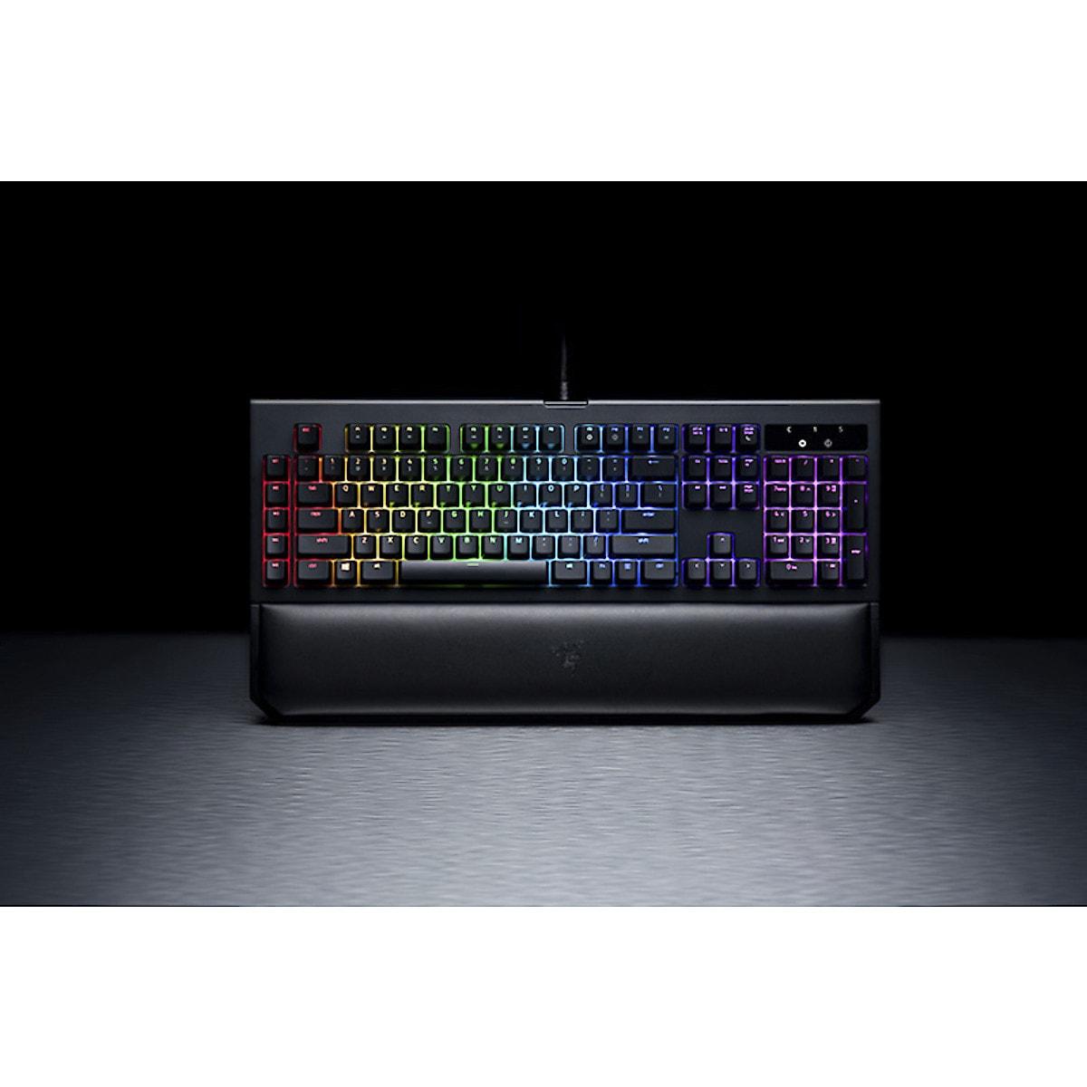 Razer BlackWidow Chroma v2, gaming tastatur green | Clas Ohlson