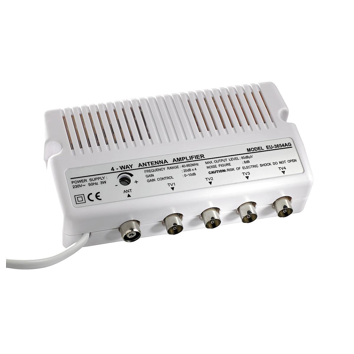 Antennivahvistin, 4-tie