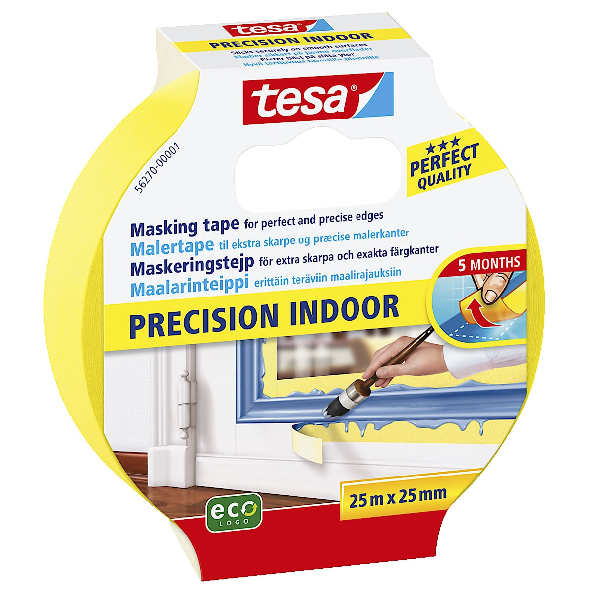 Maskeringstejp Tesa Precision Indoor
