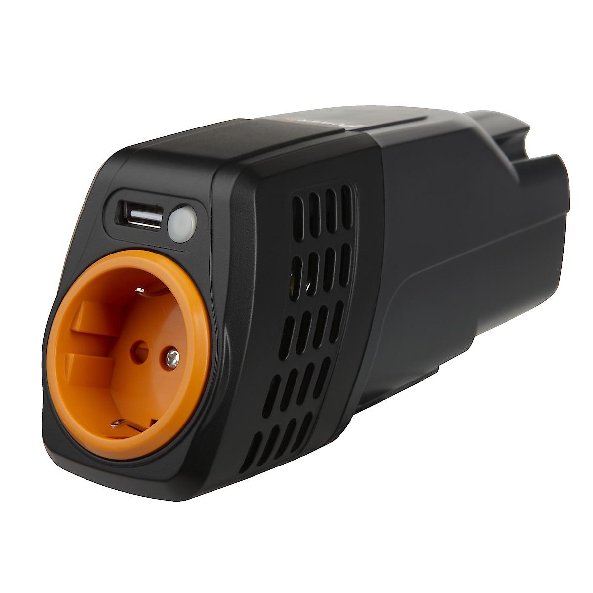 Spenningsomformer/Vekselretter 100 W