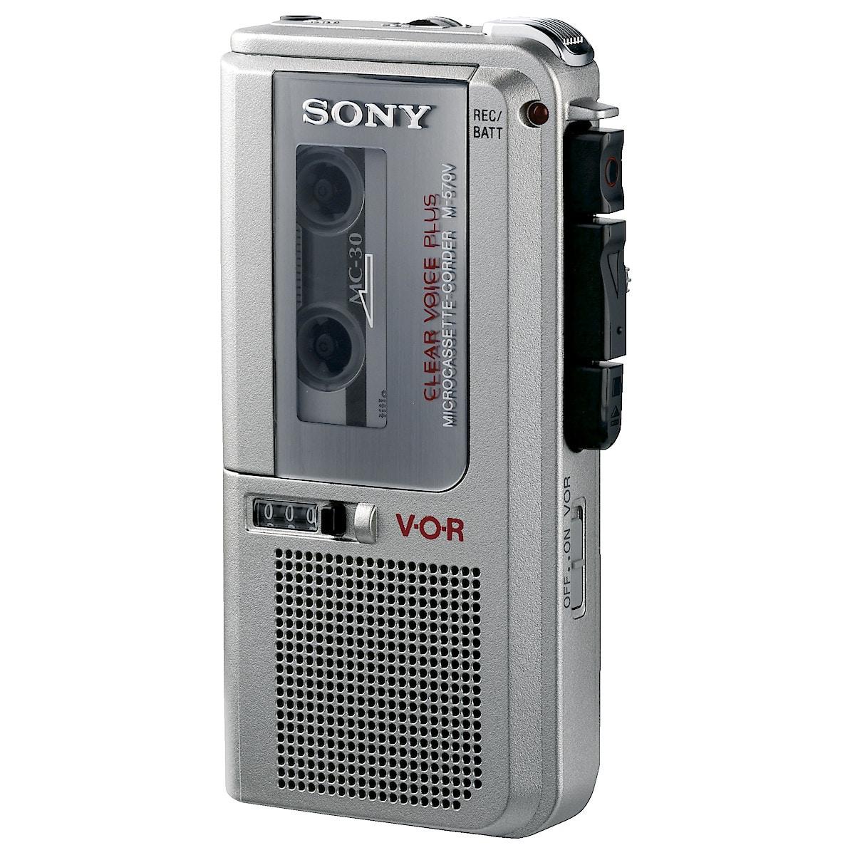Mikrokassettspiller, Sony