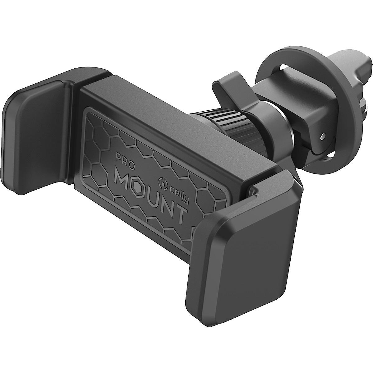 Mobilhållare med klämfäste för bil, Celly Mount Vent 360