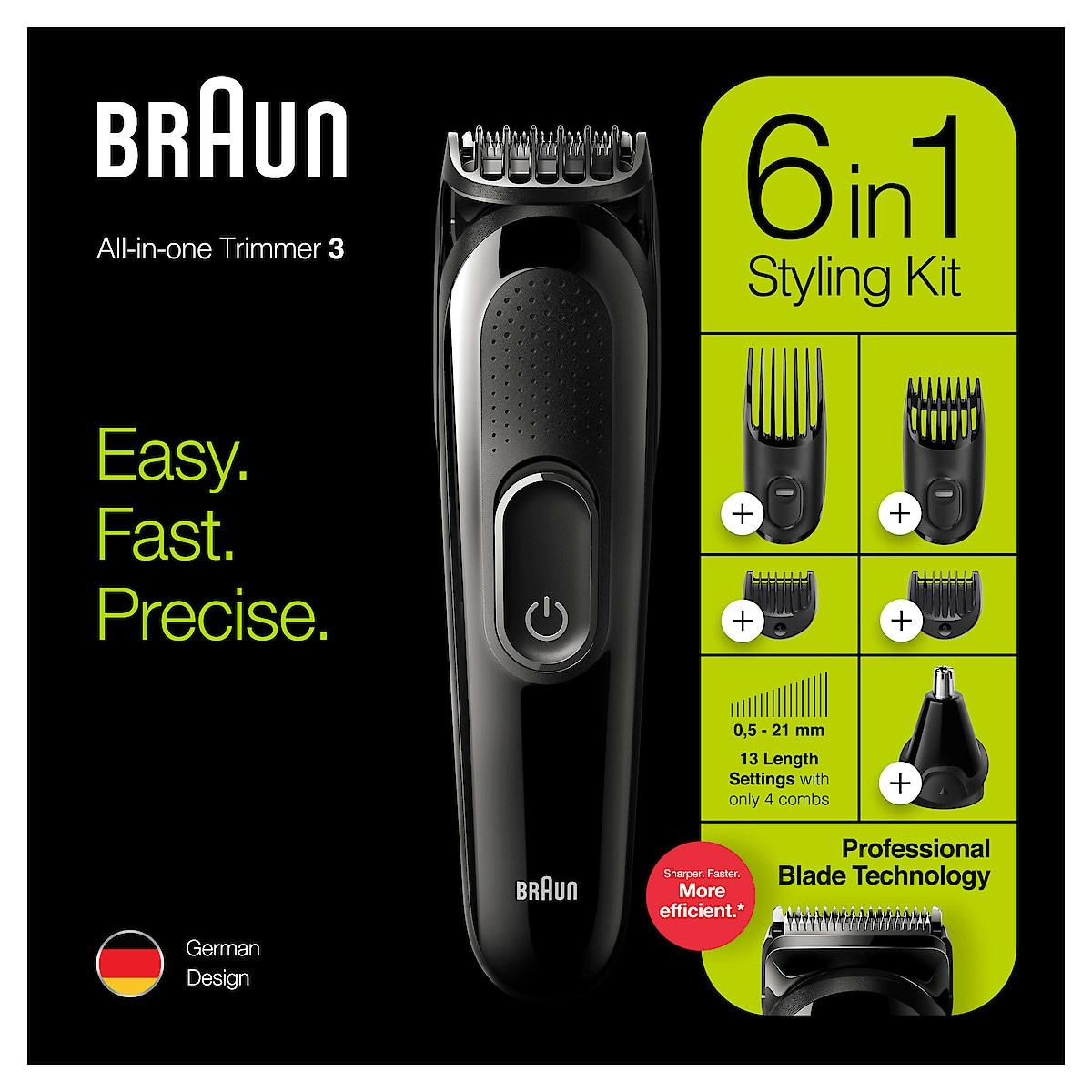 Braun 6 i 1 MGK3220 All-in-one, multitrimmer