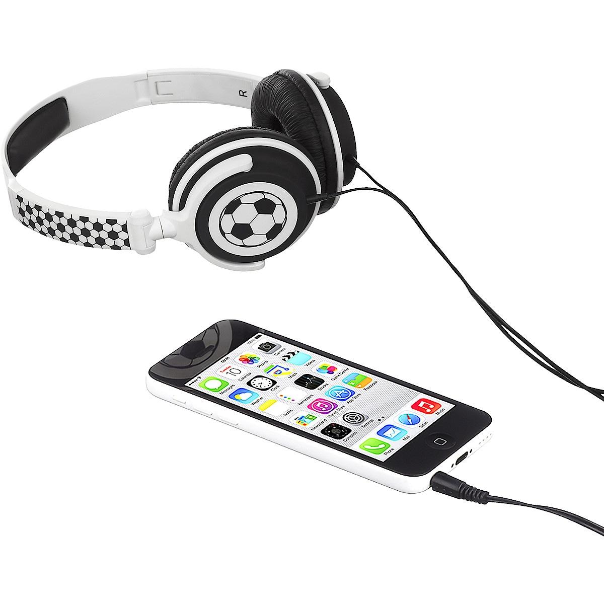 Kitsound Mydoodles hodetelefon for barn