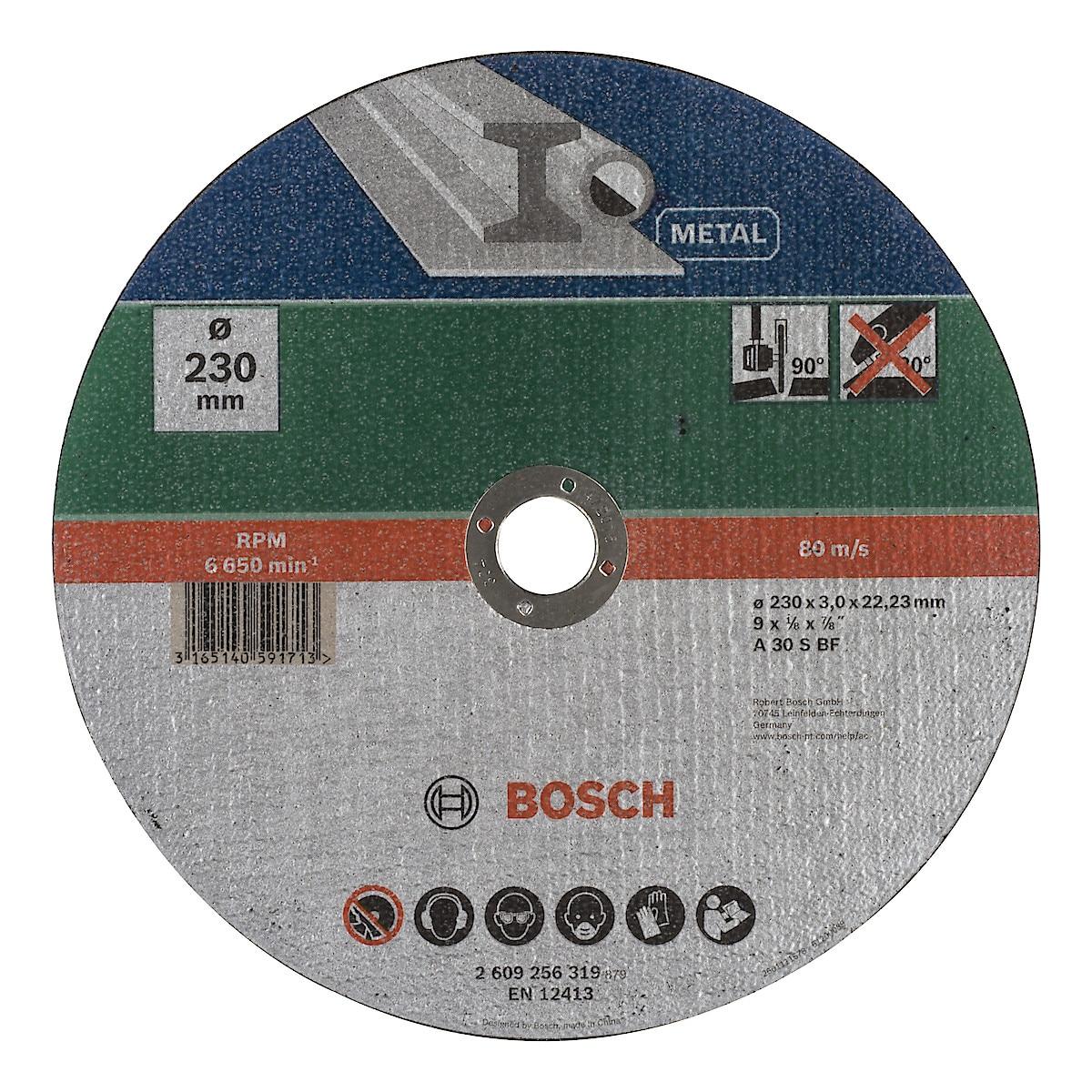 Katkaisulaikka metallille 230 mm, Bosch