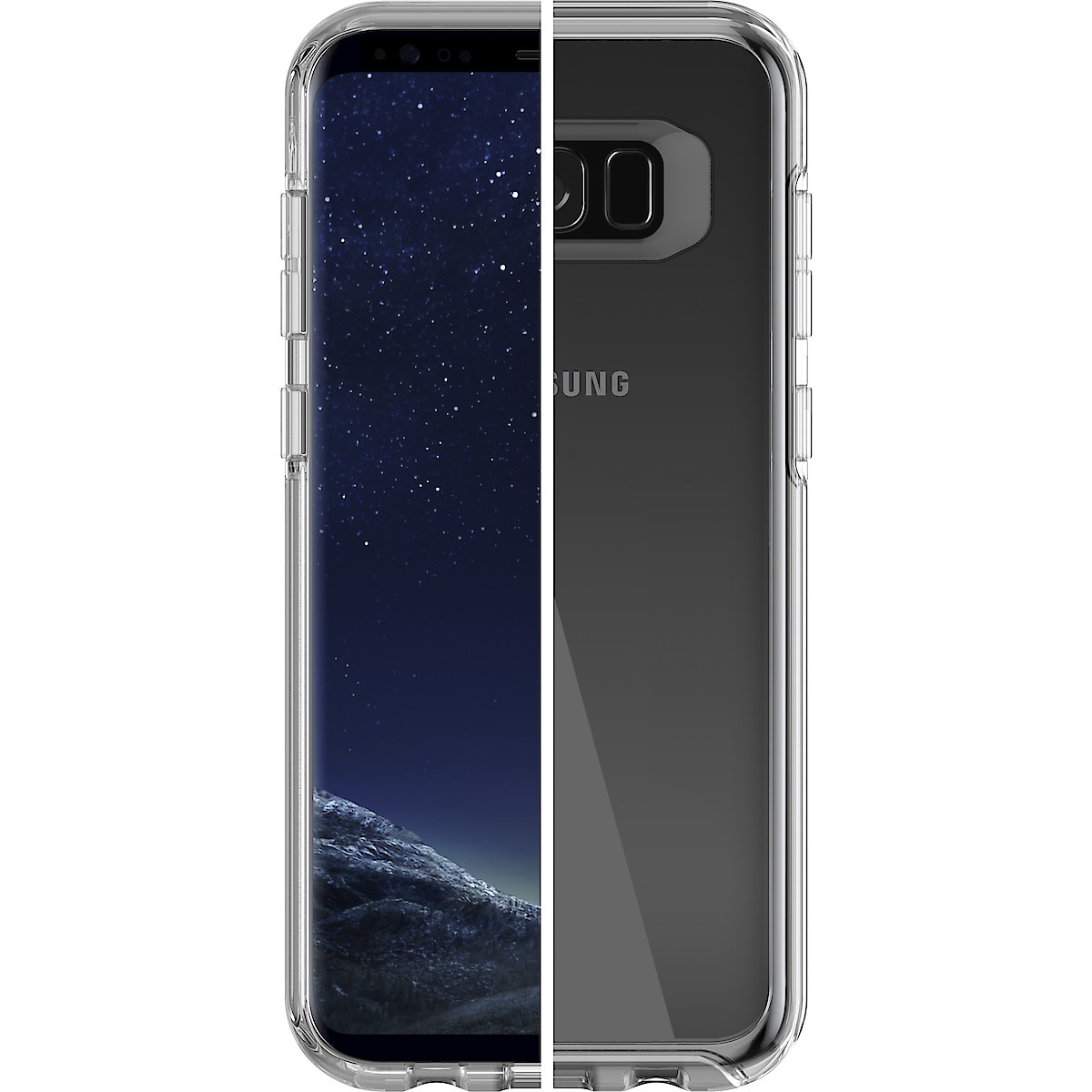 Suojakotelo Samsung Galaxy S8, Otterbox Symmetry Clear
