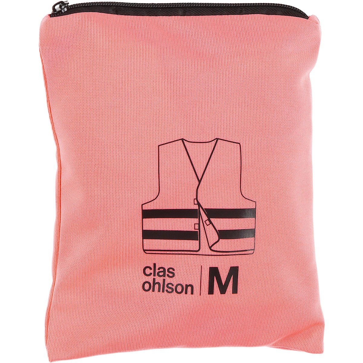 Heijastinliivi vaaleanpunainen, Clas Ohlson