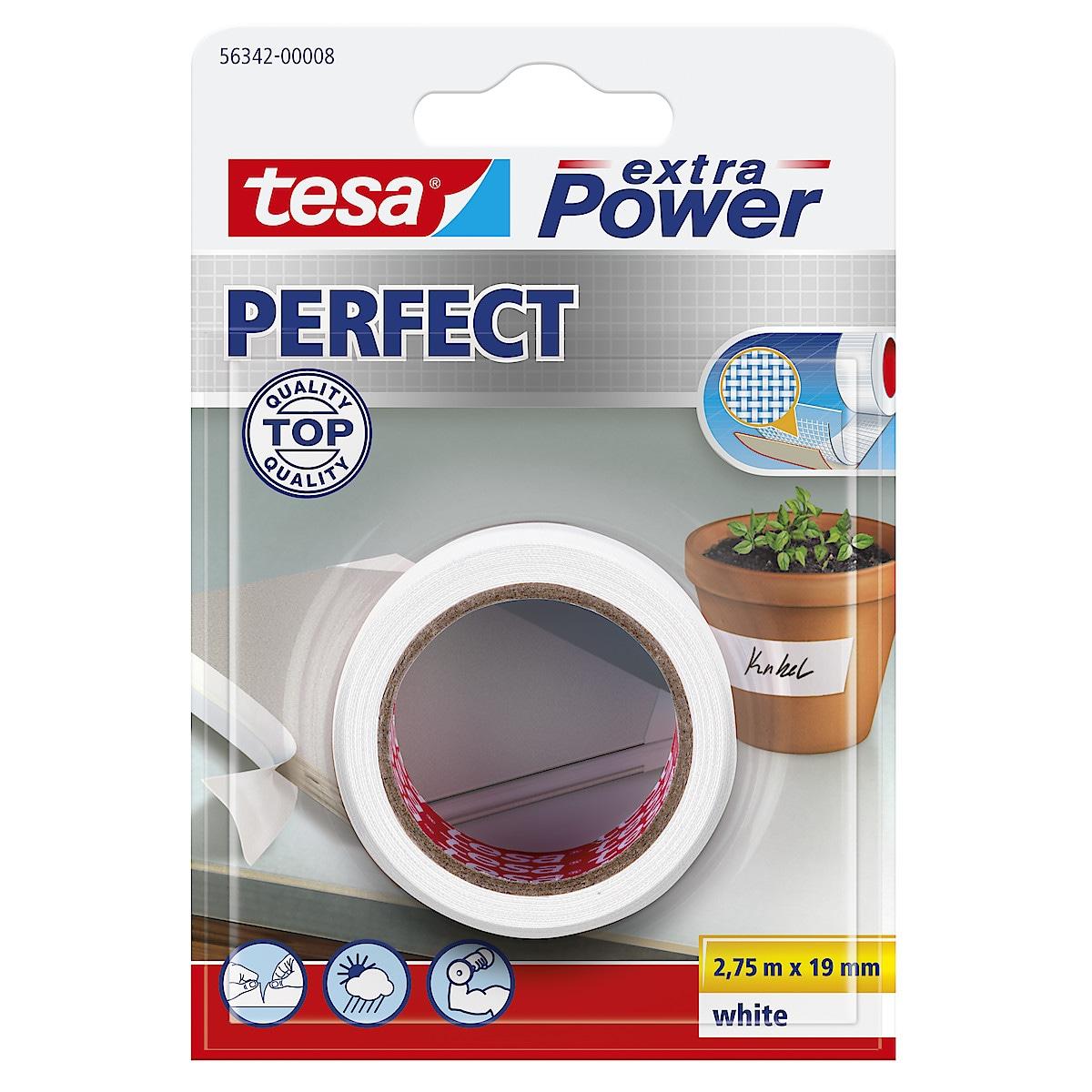 Vävtejp Tesa Extra Power Perfect