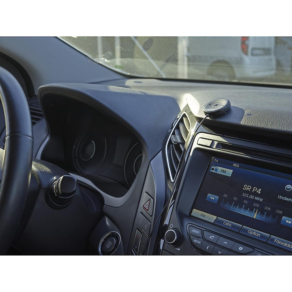 Bluetooth-vastaanotin, jossa NFC, autoon