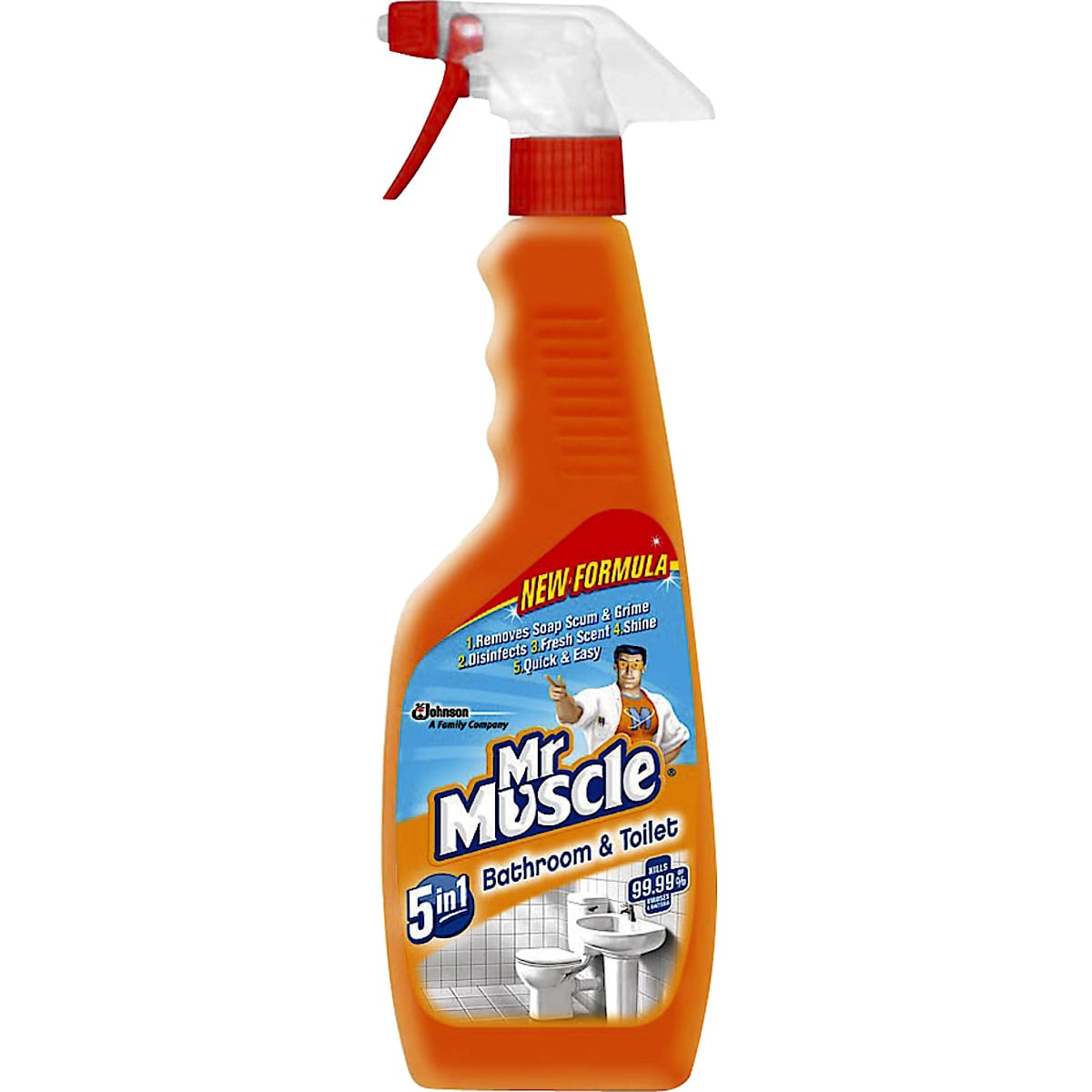 Mr Muscle 5-in-1 Bathroom & Toilet Trigger Spray