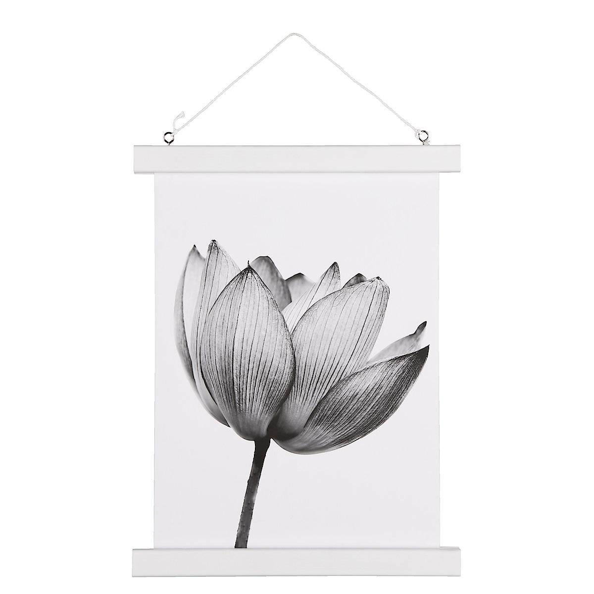White Poster Hanger, 24 cm