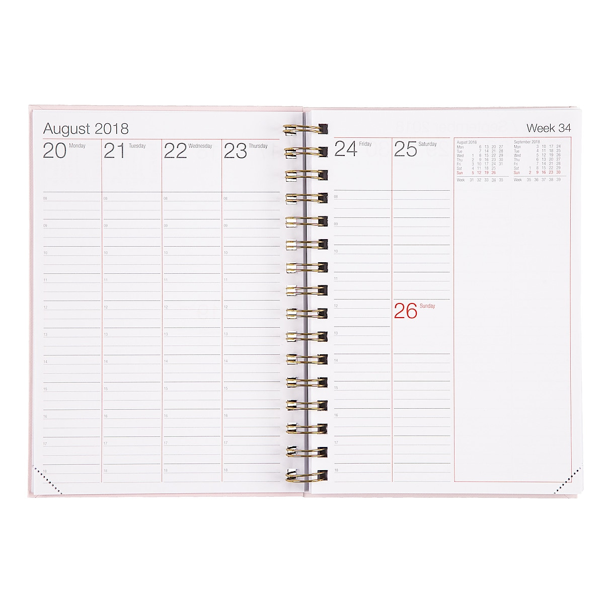 Veckokalender 2018/2019