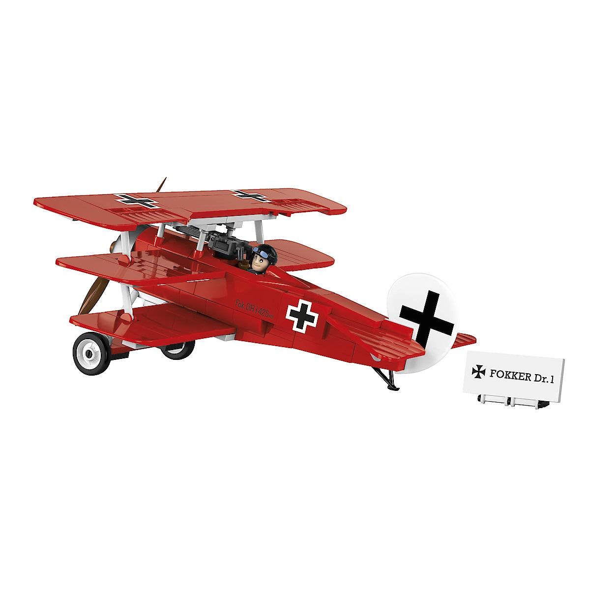 Cobi Red Baron Fokker Dr.1 Triplane Building Blocks