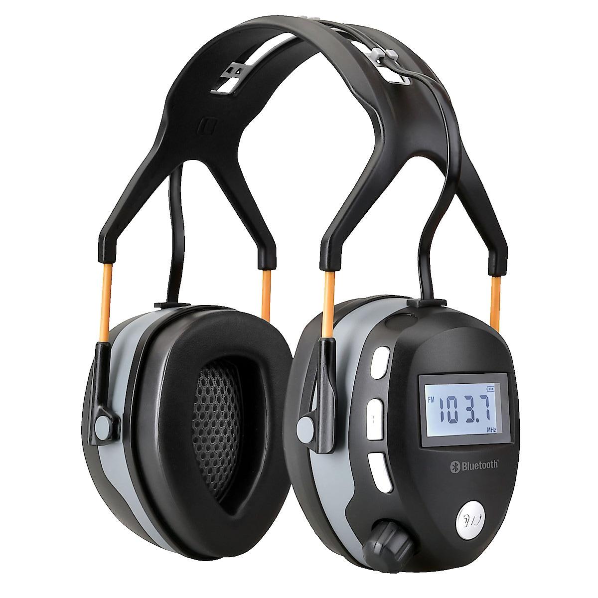Kuulosuojaimet joissa Bluetooth ja radio