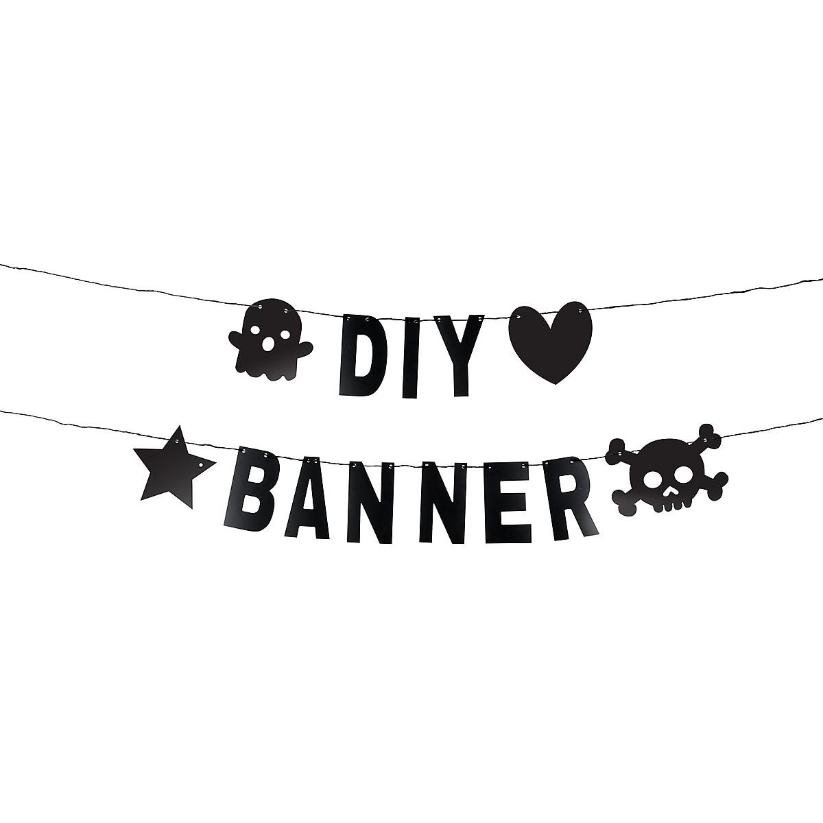 DIY Banner Kit, Black