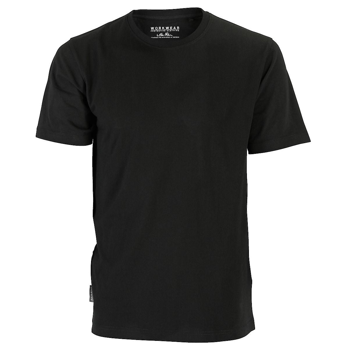 T-shirt herr svart