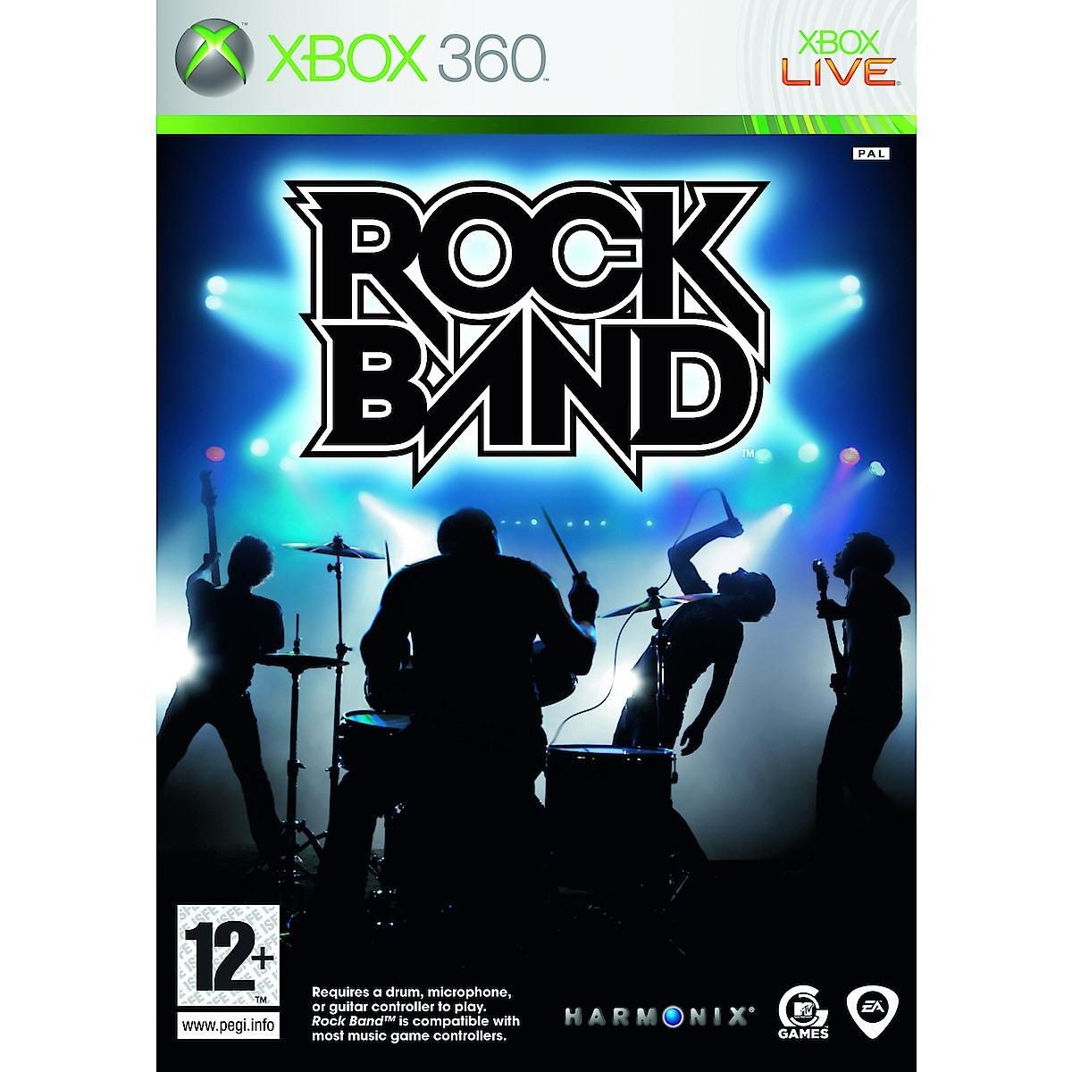 Rock Band, Xbox 360