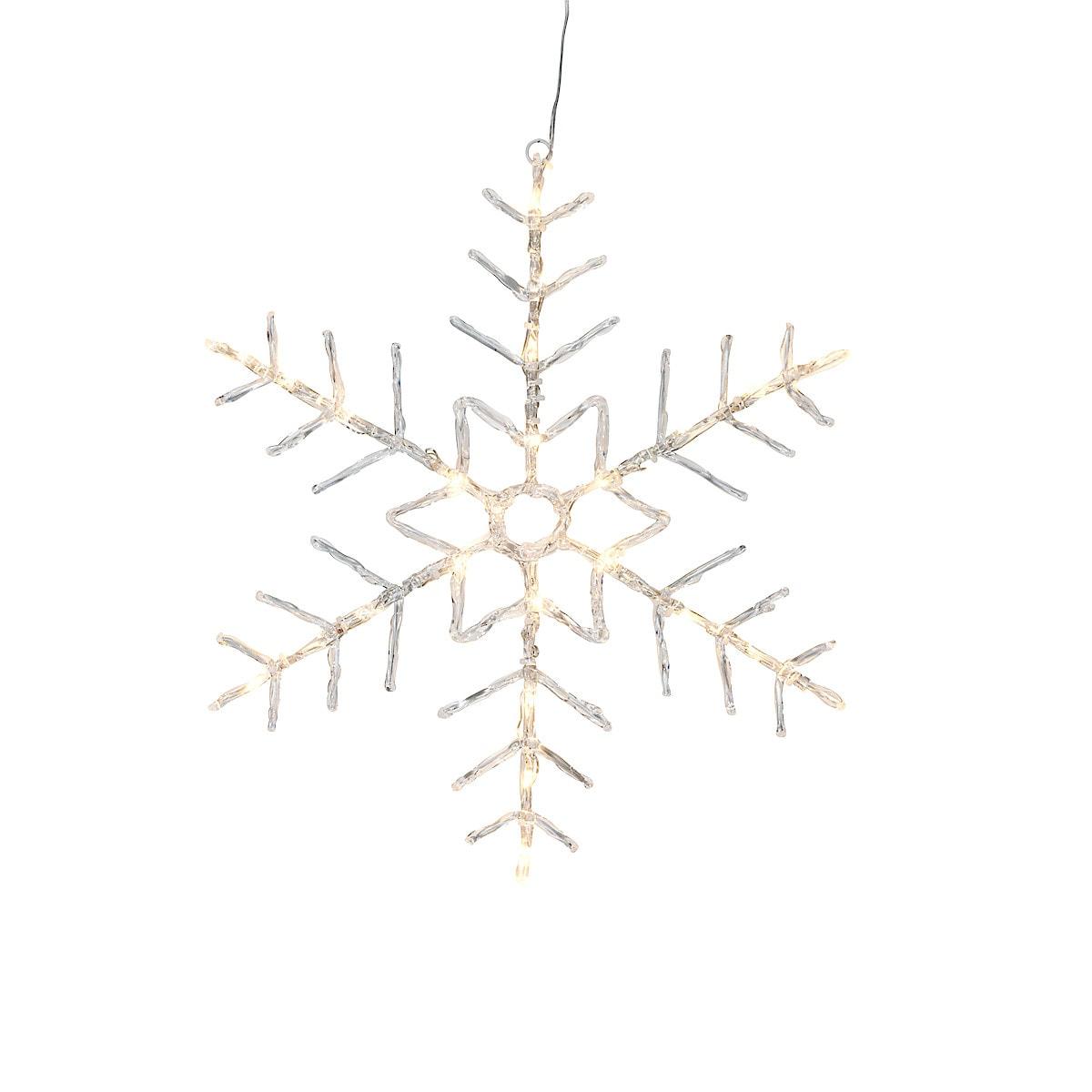 LED snowflake star