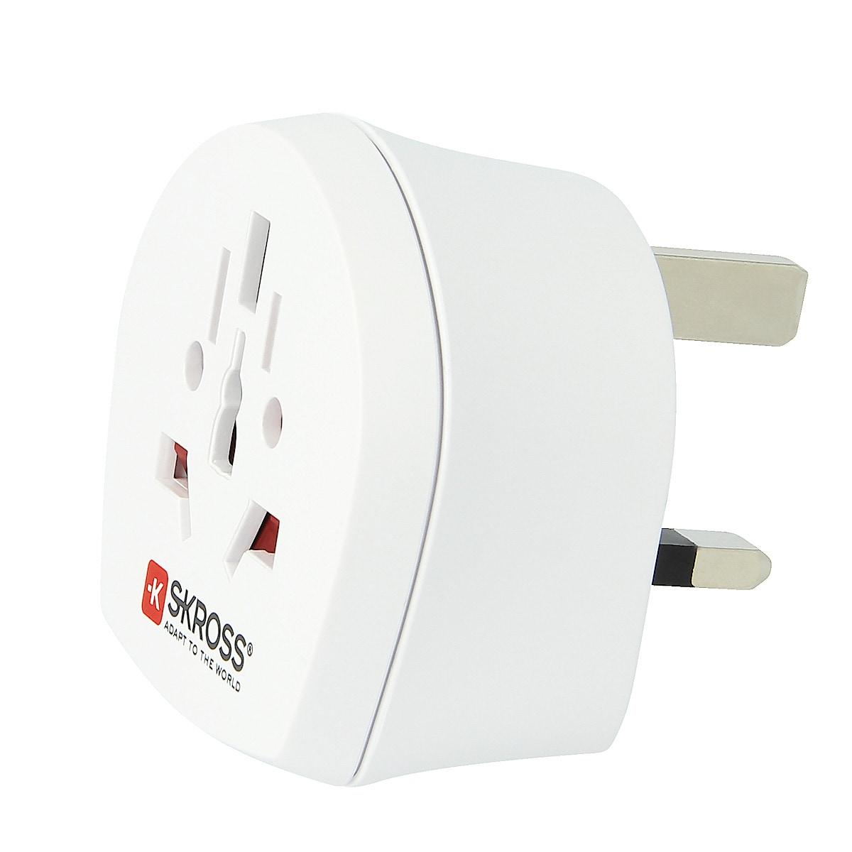SKROSS World to UK Travel Adapter