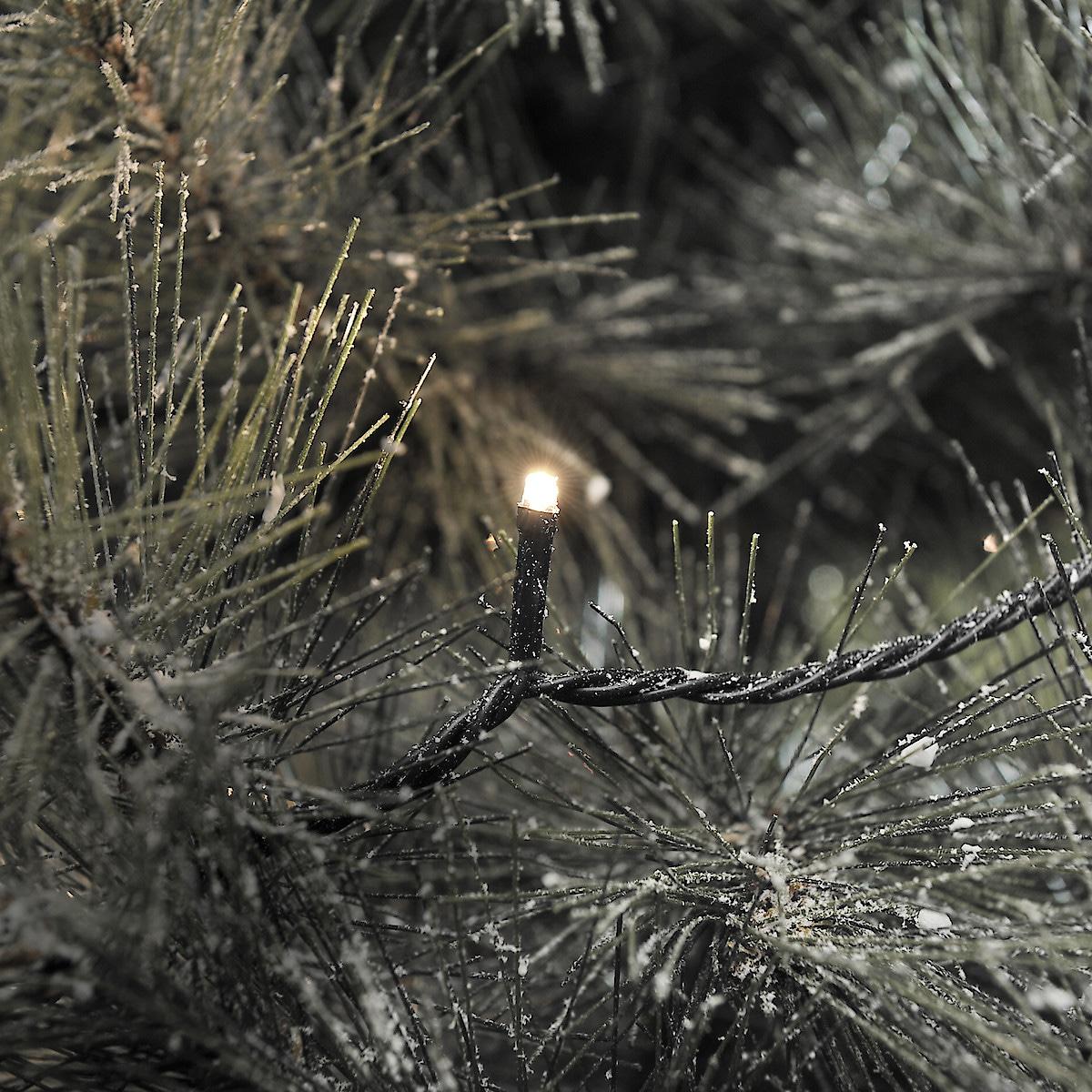 Ljusslinga med varmvita LED-lampor