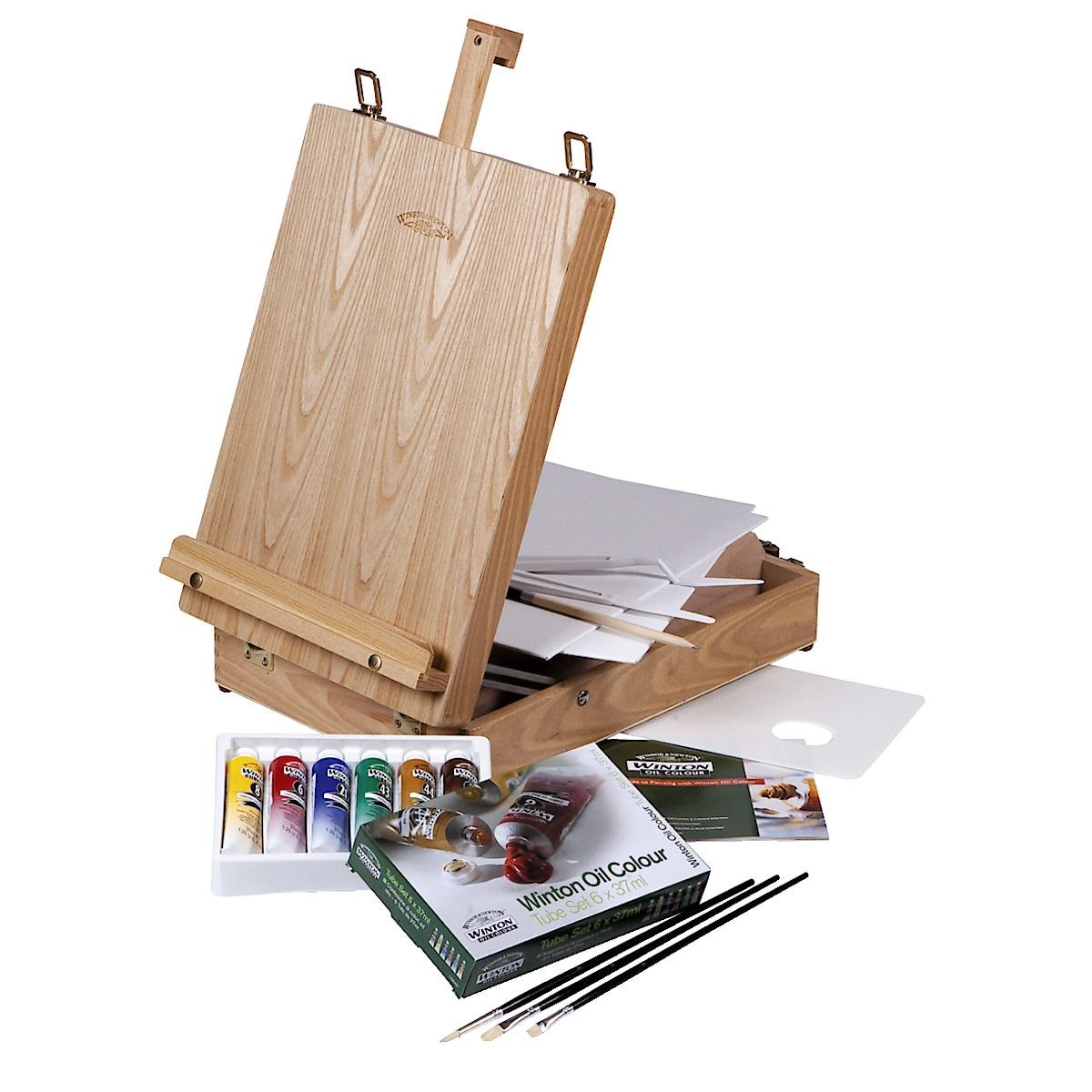 W&N Oil Paint Box Set
