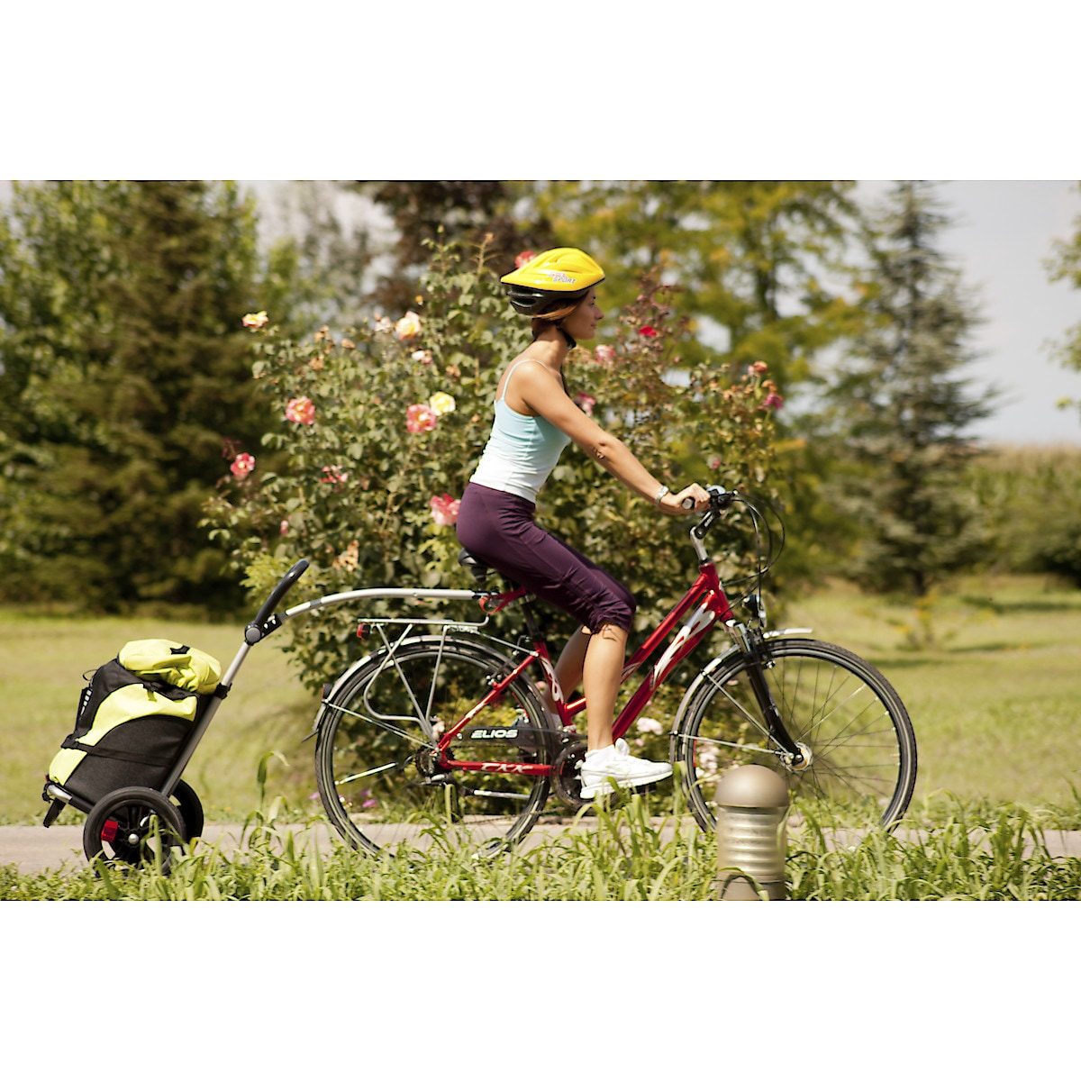 Bellelli B-Tourist, shopping- och cykelvagn