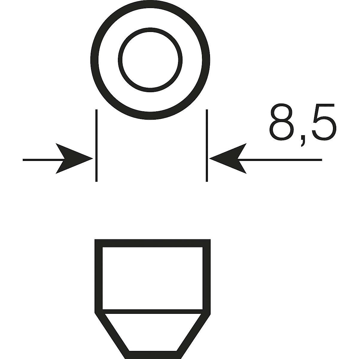 Osram bilpære SV8,5-8
