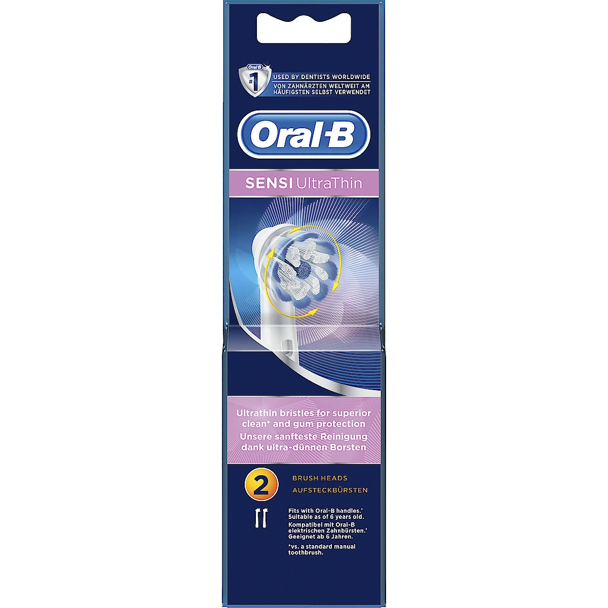 Refillbørstehode til Oral-B Sensi Ultrathin