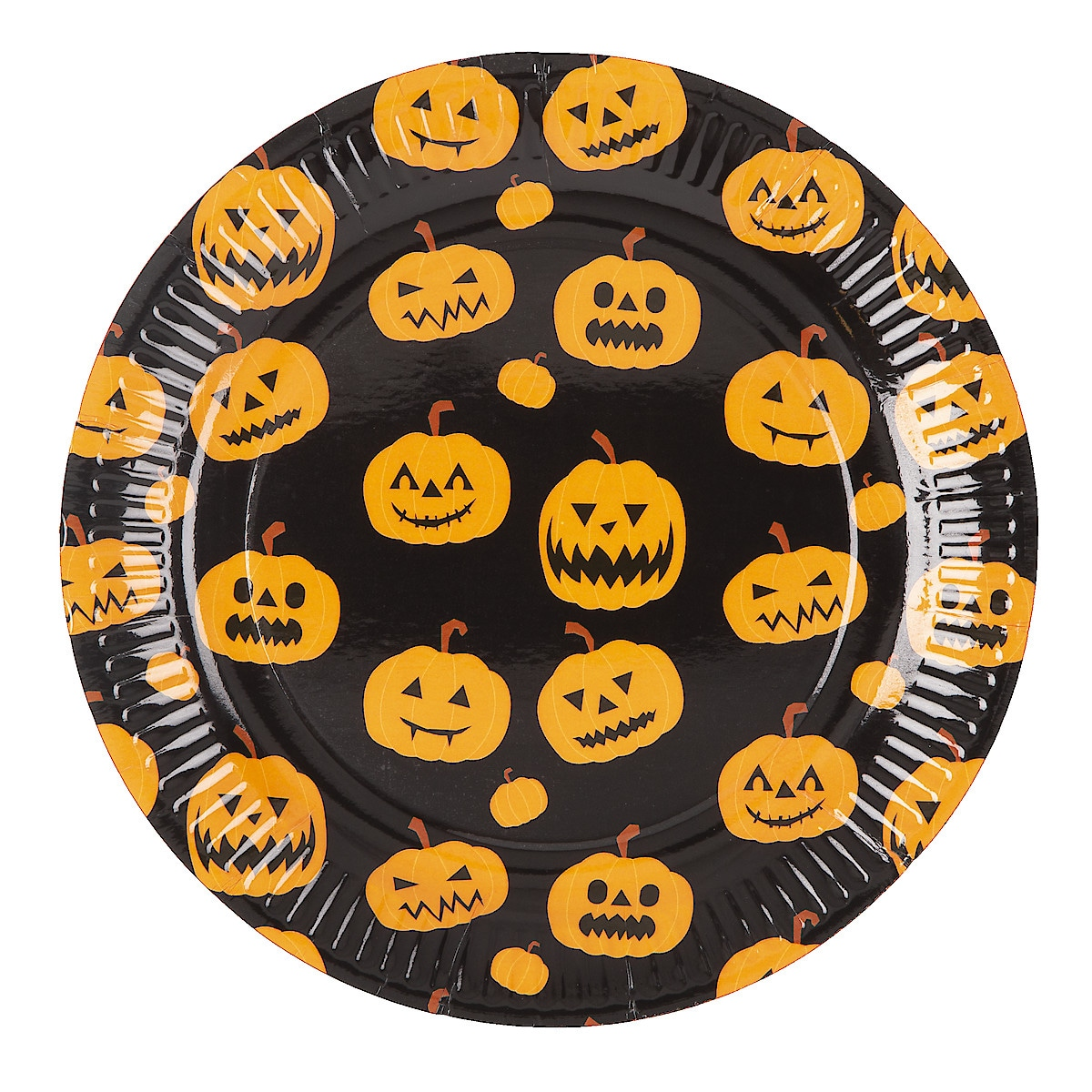 Halloween engangstallerken 23 cm, 20-pack