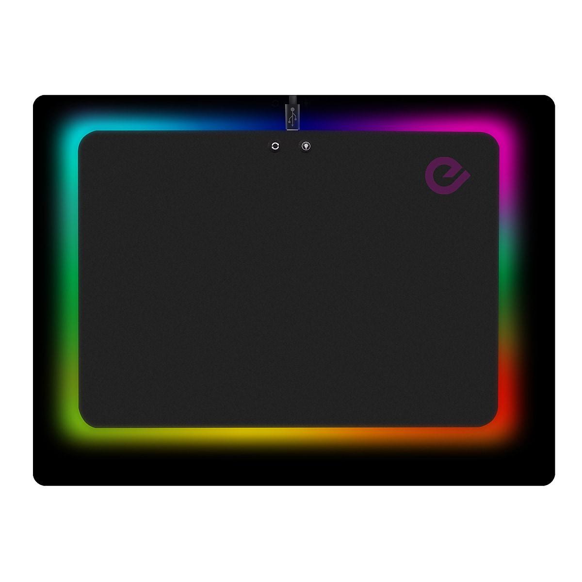 Exibel gaming-musematte med LED