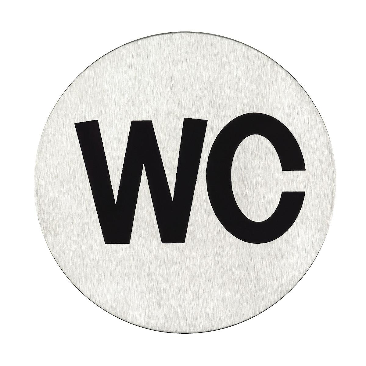 WC-skylt