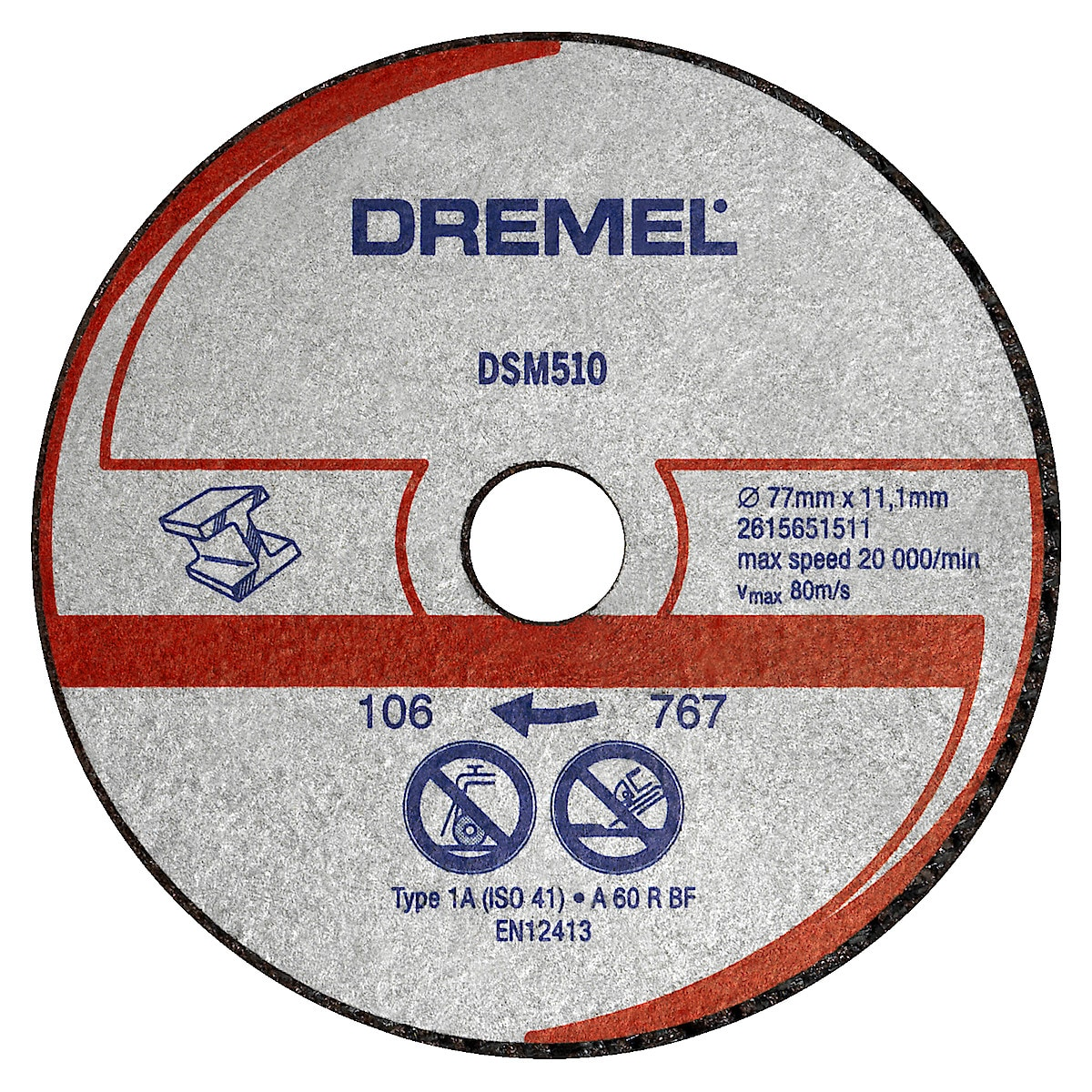 Kapskiva Dremel DSM510