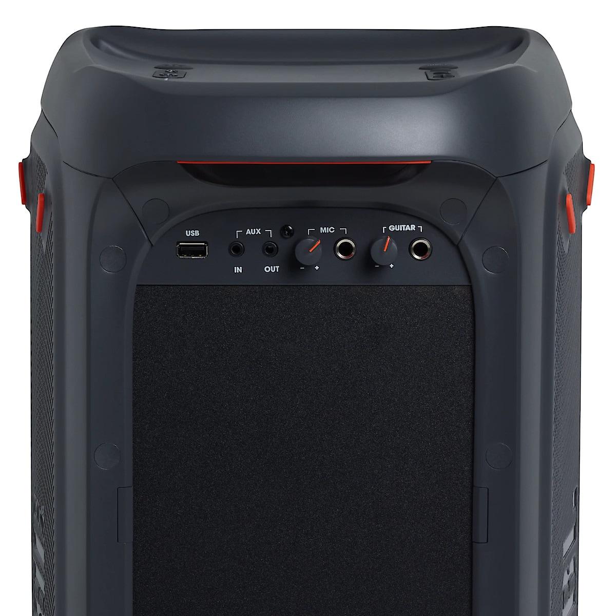 JBL PartyBox 100 Kannettava kaiutin, jossa valotehosteita