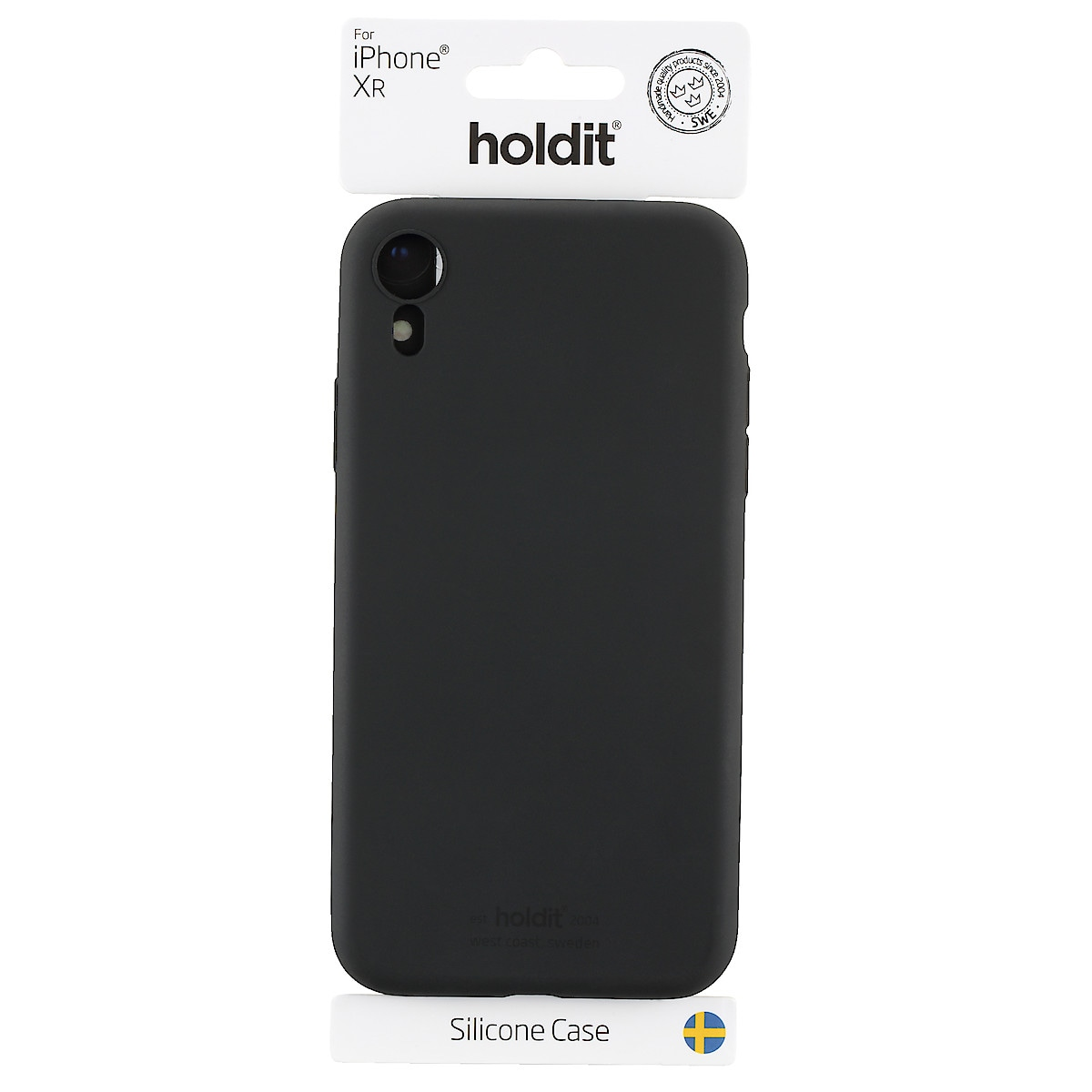 Holdit mobildeksel i silikon for iPhone XR