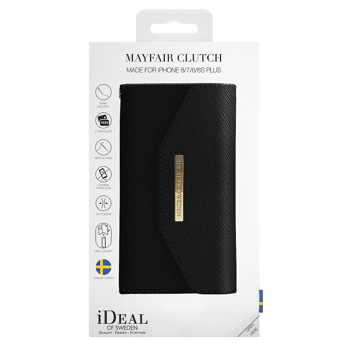 iDeal of Sweden Wallet Cover for iPhone 8 Plus
